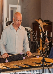 Michael Emenau and vibraphone