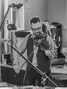 Violinist Josh Zubot