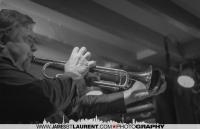Ivanhoe Jolicoeur on the trumpet.