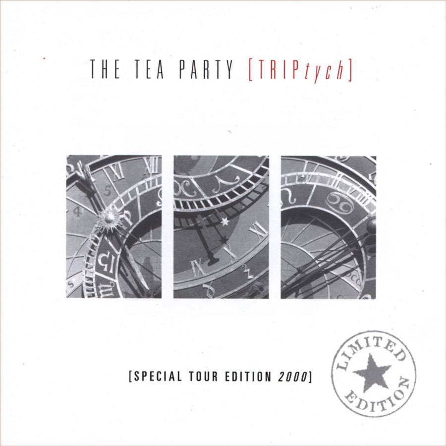 The Tea Party - Triptych CD Cover