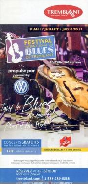 Mont Tremblant Blues Festival Guide 2005