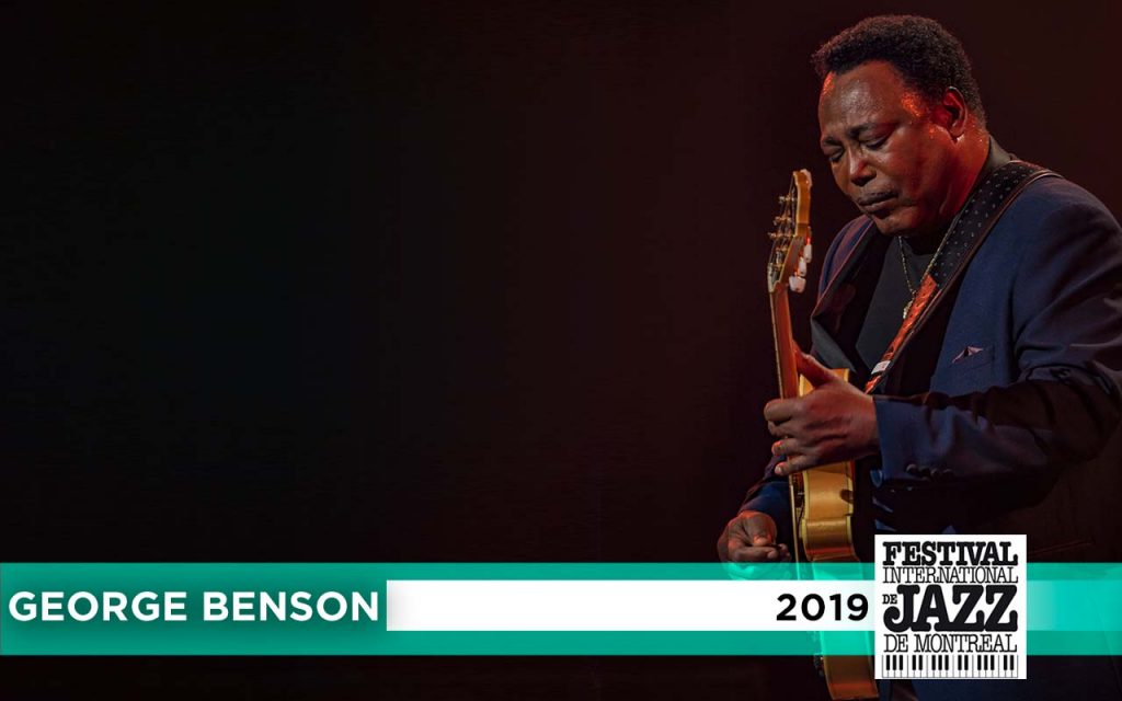 George Benson Performing